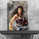 Wonder Woman  13x19 inches Poster Print