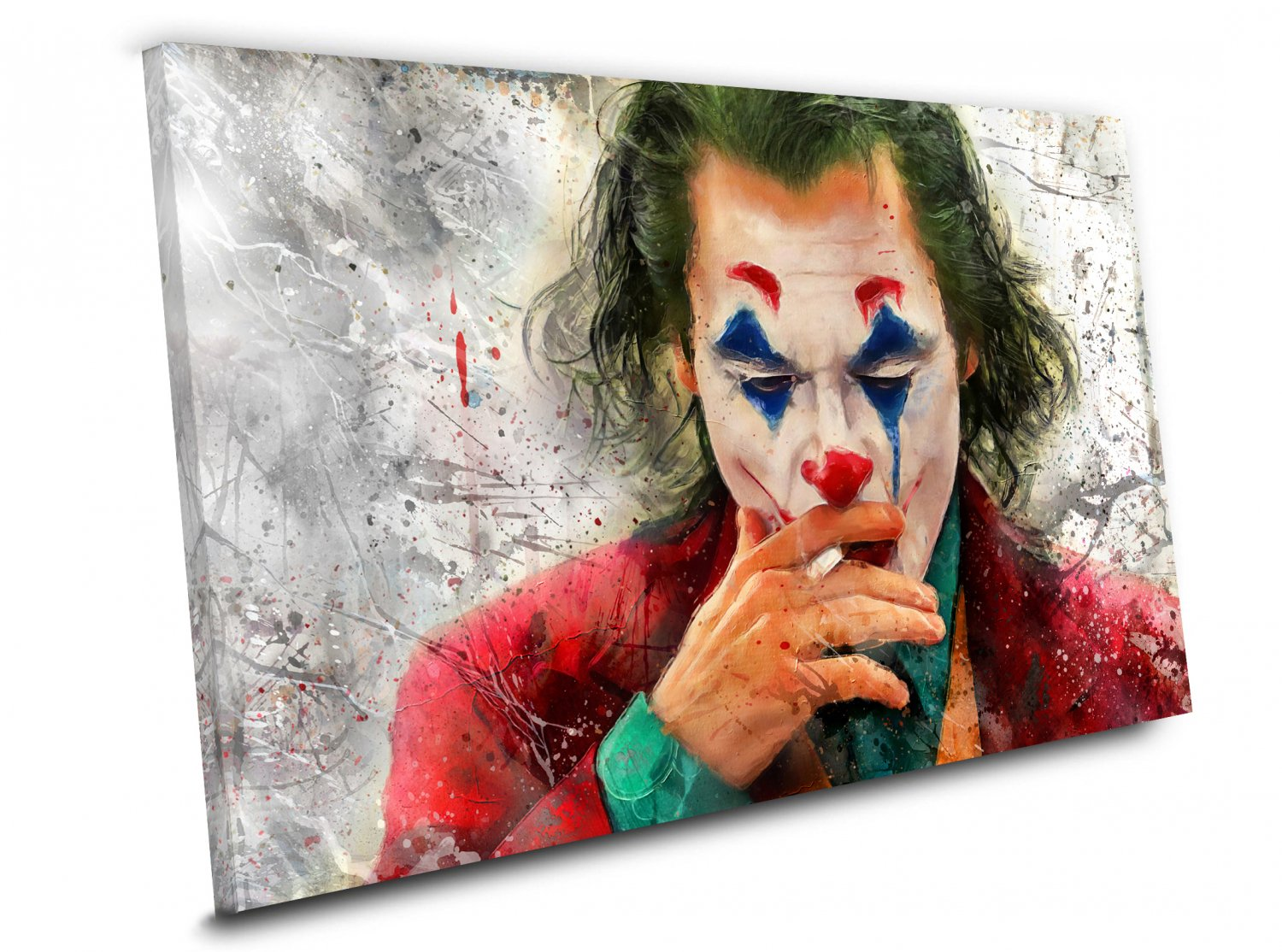 Joker Movie 2019 Joaquin Phoenix Arthur Fleck  8x12 inches Stretched Canvas