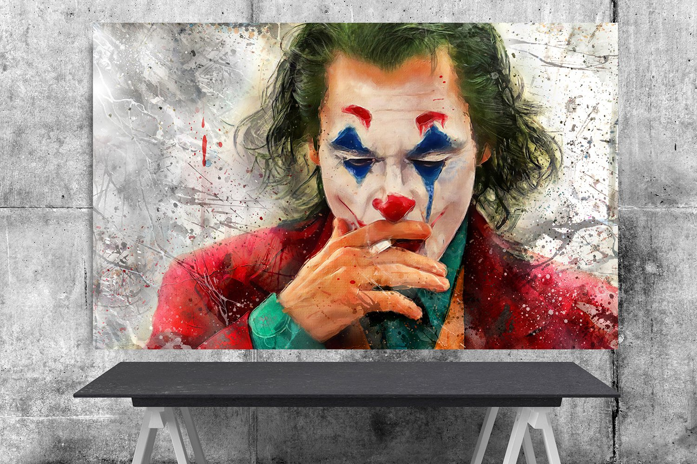 Joker  Movie 2019 Joaquin Phoenix  Arthur Fleck  8x12 inches Photo Paper