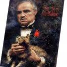 The Godfather, Vito Corleone, Marlon Brando   8x12 inches Stretched Canvas