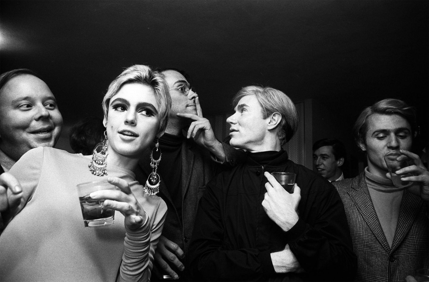 Andy Warhol  Edie Sedgwick  13x19 inches Poster Print