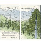 The Lumineers Tour 10x24 inches Stretched Canvas Bundle of 2