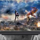 Captain America  ,Thanos  24x35 inches Canvas Print