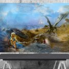 Game of Thrones, Daenerys Targaryen, Emilia Clarke   18x28 inches Poster Print