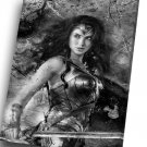 Wonder Woman   16x24 inches Stretched Canvas