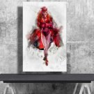 Scarlet Witch, Wanda Maximoff  18x28 inches Canvas Print