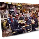 Avengers Endgame, Thor, Captain America, Iron Man  16x24 inches Stretched Canvas