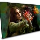 Scarlet Witch, Wanda Maximoff  16x24 inches Stretched Canvas