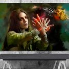 Scarlet Witch, Wanda Maximoff   24x35 inches Canvas Print