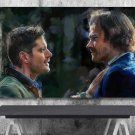 Supernatural Sam and Dean Winchester Finale  18x28 inches Canvas Print