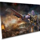 Avengers Endgame Thanos Army 14x20 inches Stretched Canvas