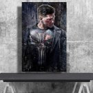 The Punisher, Frank Castle, Jon Bernthal   18x28 inches Canvas Print