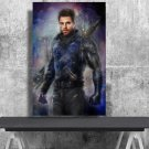 Winter Soldier  Bucky Barnes  18x28 inches Canvas Print