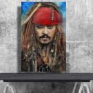 Jack Sparrow  24x35 inches Canvas Print