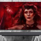 Wanda Vision  ,Scarlet Witch, Wanda Maximoff  18x28 inches Poster Print