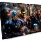 Avengers Endgame , Final Battle  16x24 inches Stretched Canvas