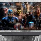 Avengers Endgame , Final Battle  24x35 inches Canvas Print