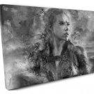 Black Widow, Natasha Romanoff, Scarlett Johansson  16x24 inches Stretched Canvas