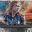 Black Widow, Natasha Romanoff, Scarlett Johansson  24x35 inches Canvas Print