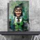 Loki ,Tom Hiddleston   24x35 inches Canvas Print