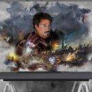 Avengers Endgame, Iron Man  18x28 inches Canvas Print