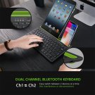 WIRELESS BLUETOOTH MULTI-FUNCTION SLOT KEYBOARD FOR IOS/ANDROID PHONE & TABLET
