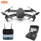 RC Drone with 1080P HD Camera FPV WIFI Altitude Hold Function Selife Drone (3 batteries+bag)