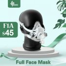 BMC FM1A L Size Full Face Mask For CPAP Bipap Machine COPD Snoring And Sleep Therapy