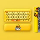 B.Duck Cartoon Theme Bluetooth Mechanical Keyboards with White LED Backlight