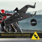 Motorcycle Cruise Control Throttle Lock Assist Retainer Wrist Grip Universal