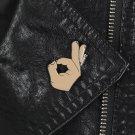 OK ! Hand Finger Sign Enamel Pin
