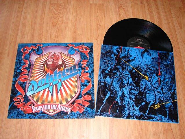 DOKKEN BACK FOR THE ATTACK VINYL LP RECORD