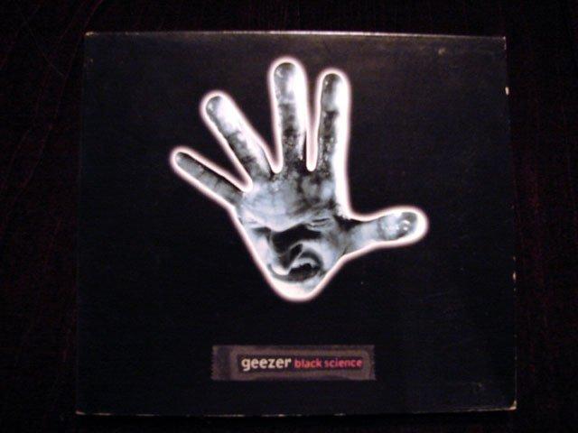 GEEZER BLACK SCIENCE CD