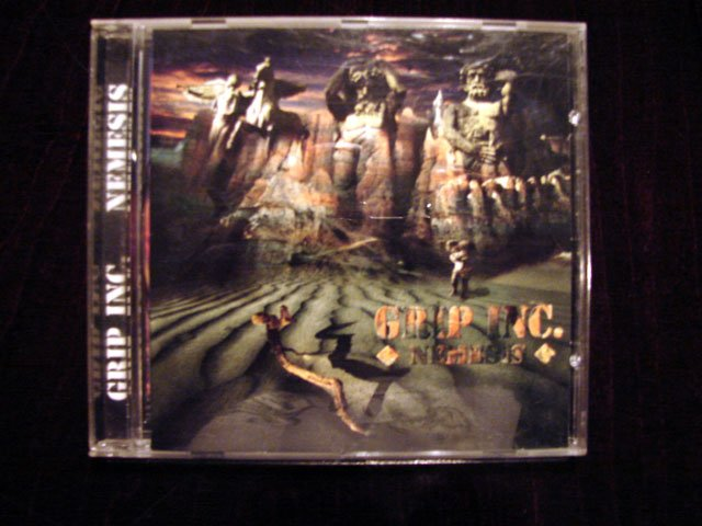 GRIP INC. NEMESIS CD