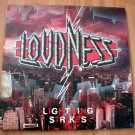LOUDNESS LIGHTNING STRIKES VINYL LP RECORD