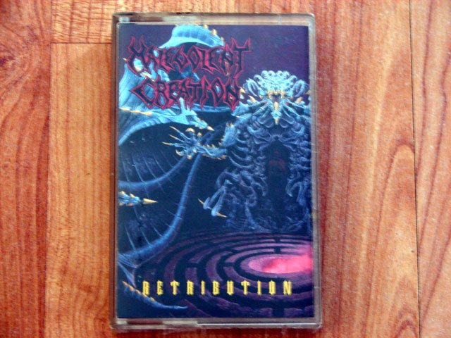 MALEVOLENT CREATION RETRIBUTION TAPE