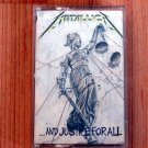 METALLICA ...AND JUSTICE FOR ALL TAPE
