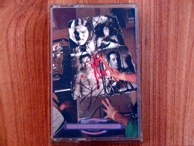 CARCASS NECROTICISM TAPE