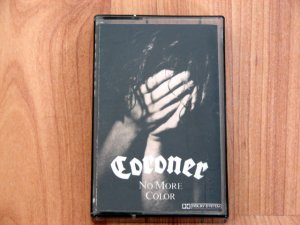 CORONER NO MORE COLOR TAPE