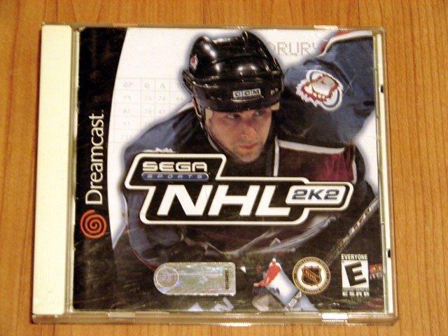 SEGA Dreamcast NHL 2K2 Game