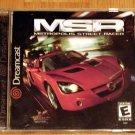 SEGA Dreamcast Metropolis Street Racer Game