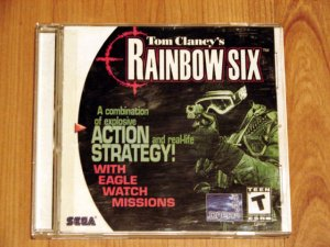 SEGA Dreamcast Rainbow Six Game