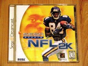 SEGA Dreamcast NFL 2K Game