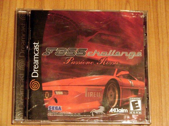 SEGA Dreamcast F355 Challenge Game