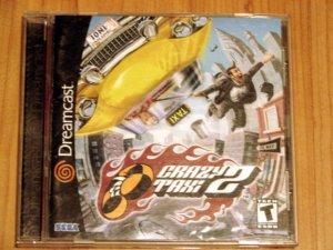 SEGA Dreamcast Crazy Taxi 2 Game