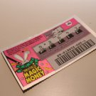 Collection Old Lotto Coupon / Ticket - (Invalid) - 1 - FREE SHIPPING
