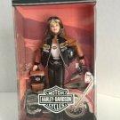 Mattel Barbie Doll Harley-Davidson Collector Ed. #4 Black n Orange Leather 2000