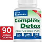 Longevity Complete Detox [New Formula] - Rapid Whole Body Detox- 90 Capsules