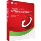 Trend Micro Internet Security 5 Pc 1 Year Global Licence Key