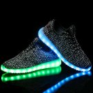 Glow-in-the-dark shoes men and women couples shoes led light shoes ghost step dance summer net